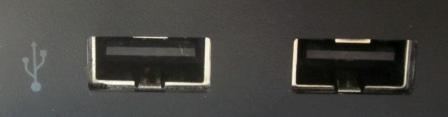 USB Ports.