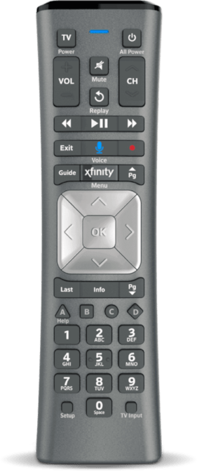 Comcast XR11 Voice Remote