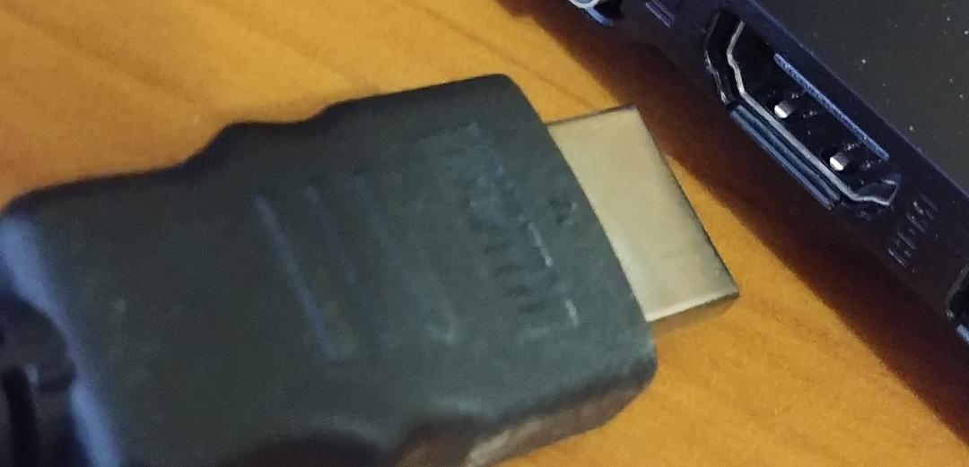 Removed HDMI Cable