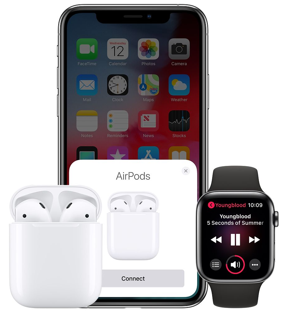 AirPods paring with iPhone