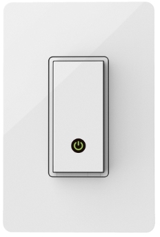 Wemo Wi-Fi Smart Light Switch.