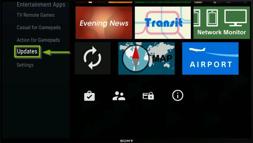Play Store menu