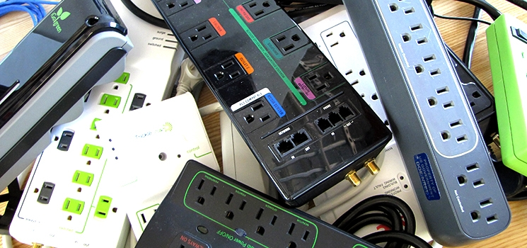 Various power strips.