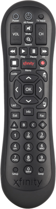 Comcast XR2 Remote