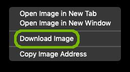 Download image menu.