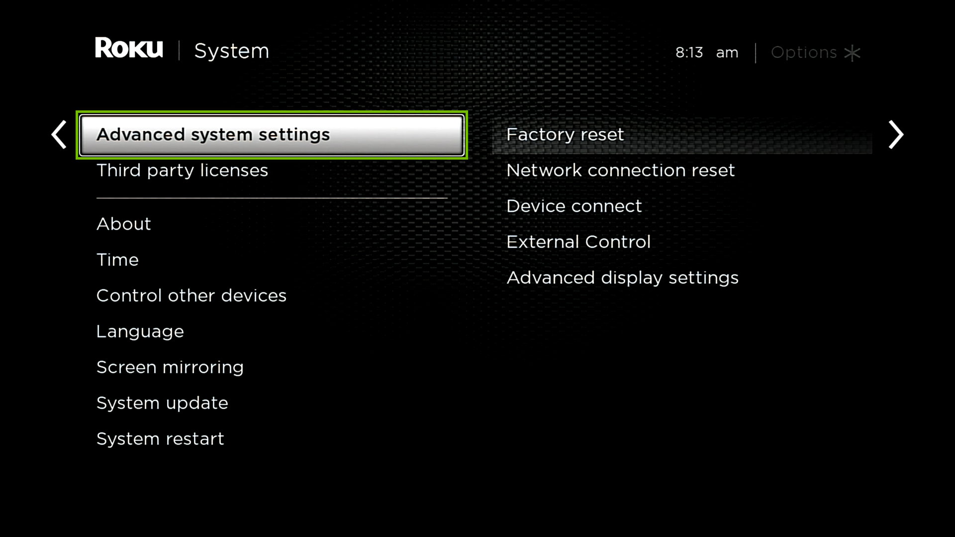 System with Advanced system settings highlighted.