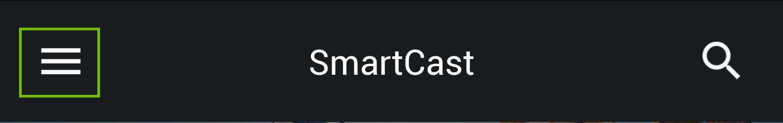 Smartcast menu