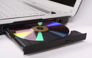 Disc in CD Rom tray