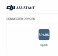 DJI spark selected