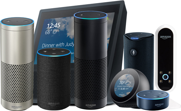 Amazon Echo Devices.