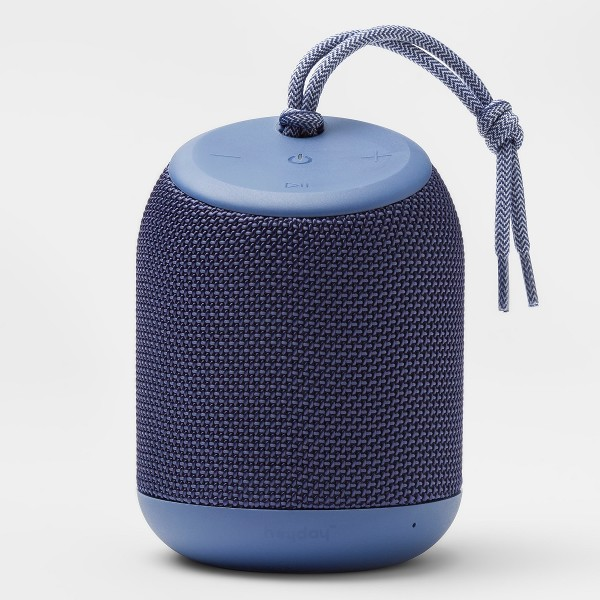 Heyday Cylinder Portable Bluetooth Speaker with Strap