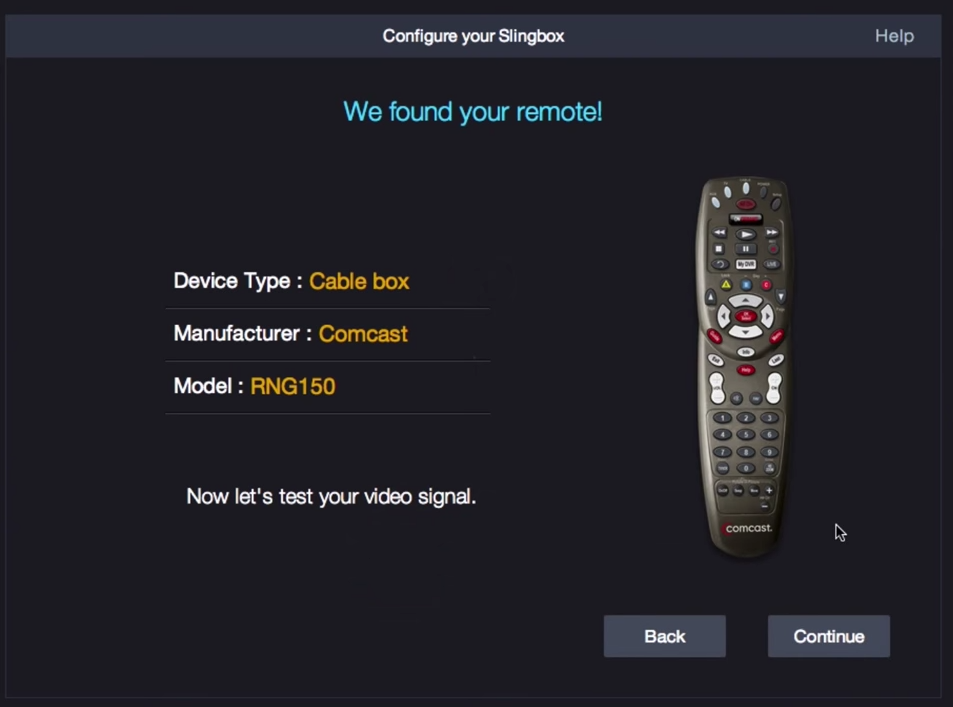 Remote screen