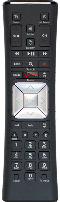 Comcast XR5 Remote