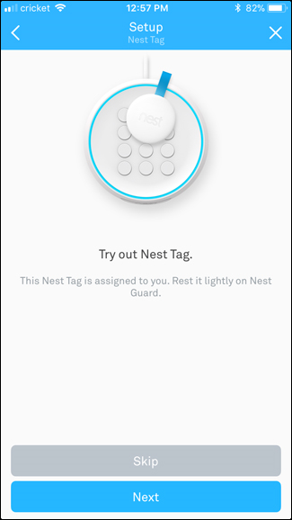 Testing your Nest Tag