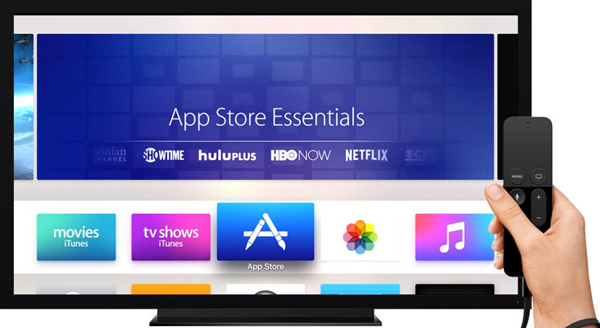 Apple TV's app store
