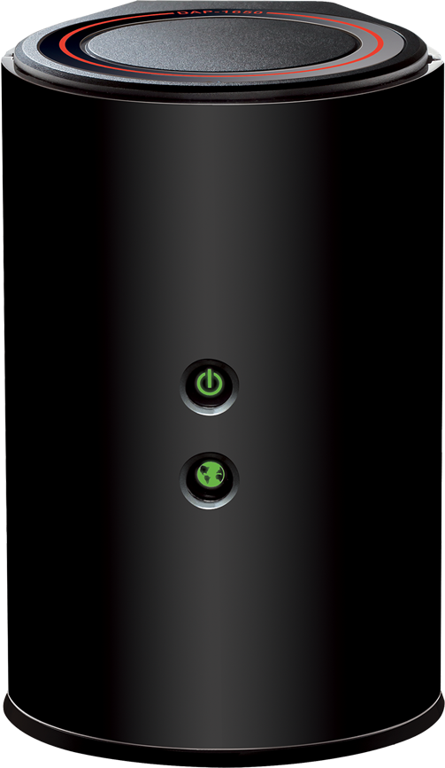 D-link DAP-1650 with green lights