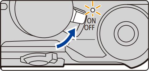 Camera power switch