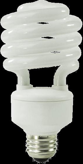 CFL bulb.