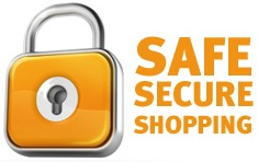 Safe secure shopping image
