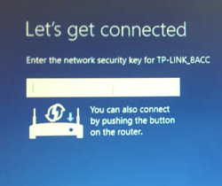Windows 10 network password