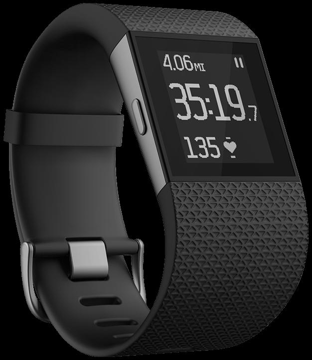 Fitbit Surge.
