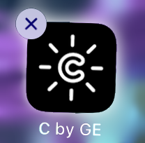 C by GE with the iOS X