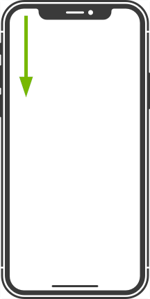 iPhone X. Illustration