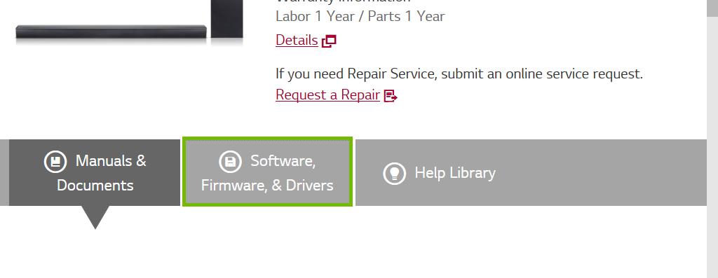 Website with proper link highlighted.