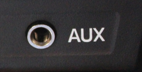 Car Stereo Aux Input.