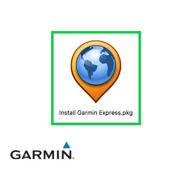 Garmin installer icon