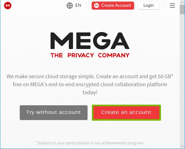 How To Set Up Mega Cloud Storage Support Com