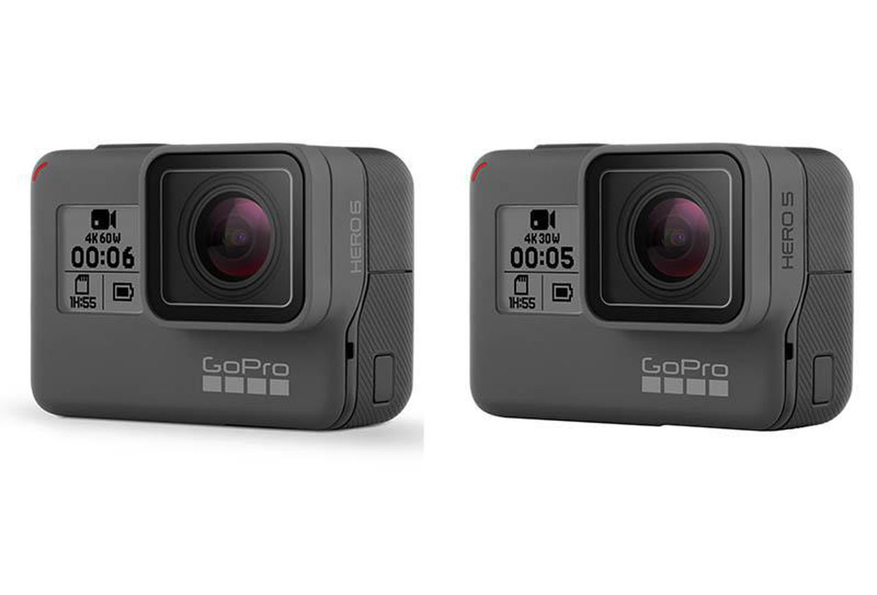 Stock photo of the GoPro HERO.