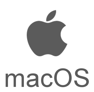 macOS.