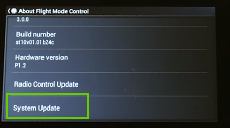 Tapping system update