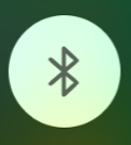 A gray bluetooth icon