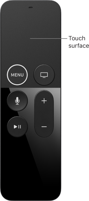 Siri Remote.