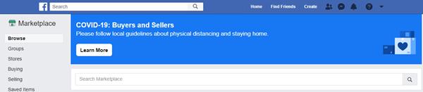 The facebook marketplace