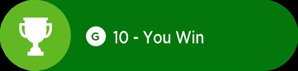 Achievement unlocked message on Xbox One.