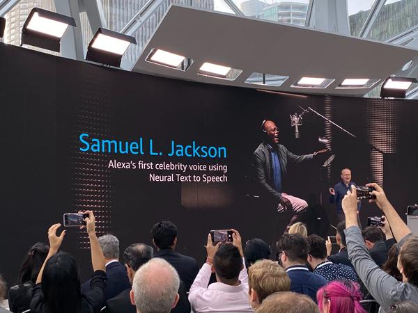 Samuel L. Jackson recording announcement