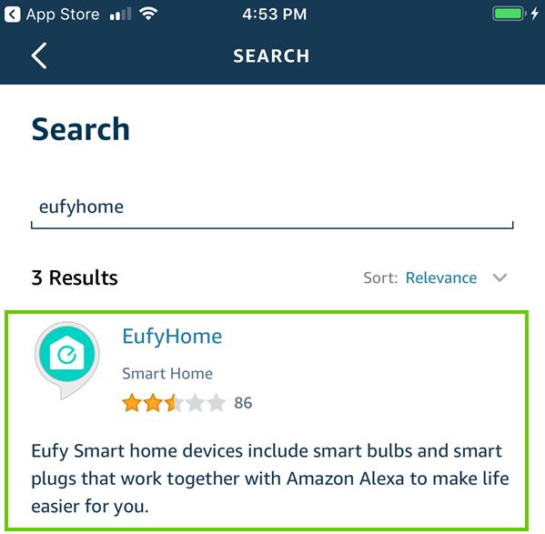 eufyhome skill