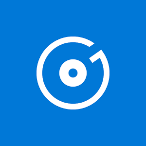 Windows 10 groove music icon.