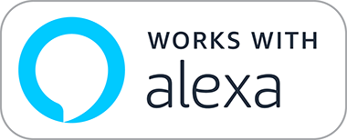 Works with Alexa.