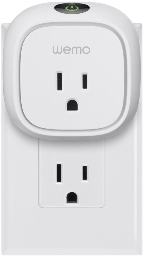 Plugged in WeMo Insight