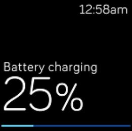Fitbit versa charging