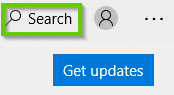 Windows Store Search field