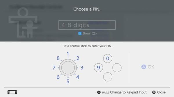 Selecting a pin