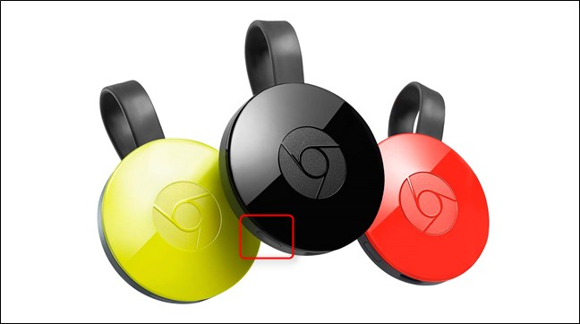 Chromecast ultra button