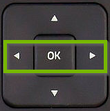 Directional buttons highlighted