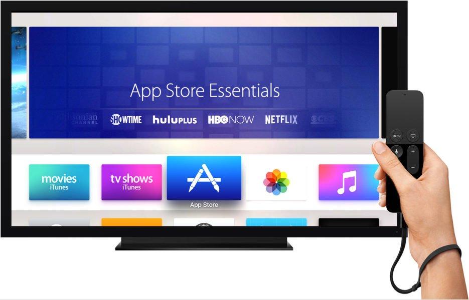 AppleTV app store