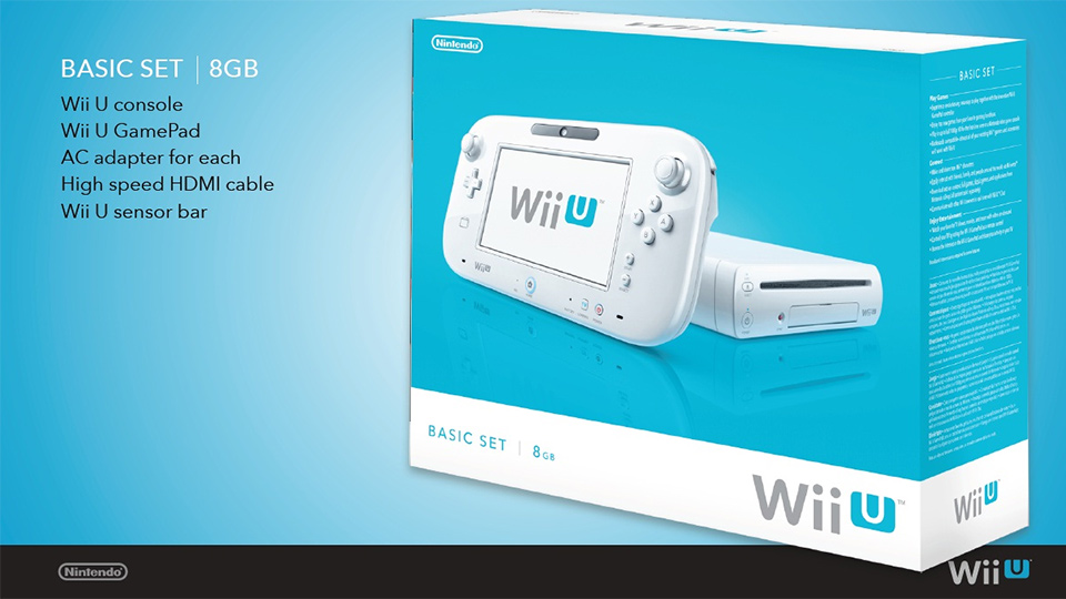A wii u still in the box